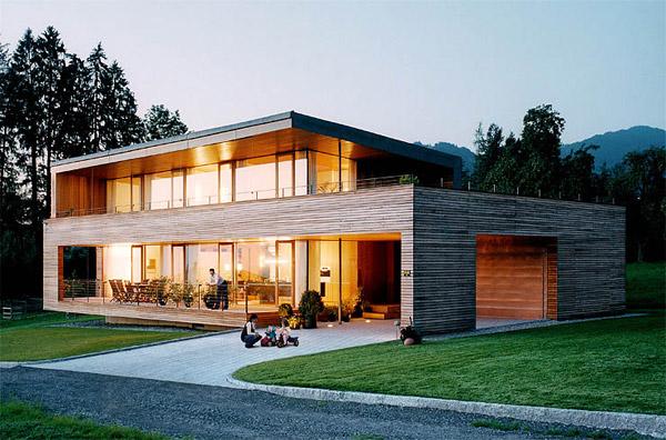 Maison En Bois Pas Cher : Modern Wooden House Design